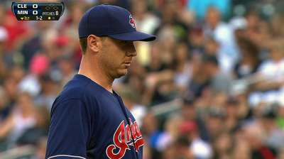 Tribe finds success with Kazmir-Gomes battery
