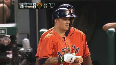 Barnes records eighth cycle in Astros history
