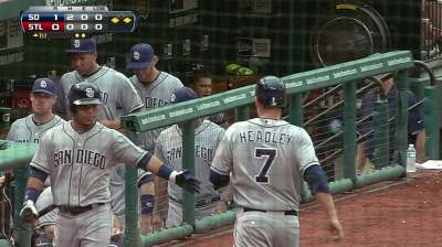 Padres ride early scoring burst to victory in St. Louis