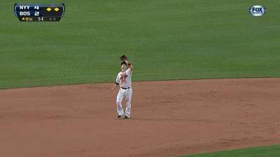 Red Sox impressed by Britton's poise