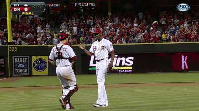 Heat is on: Reds fend off rival Pirates for series win
