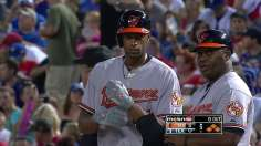 Early barrage carries Orioles past Rangers