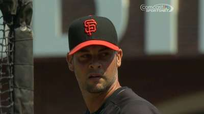 Vogelsong happy with initial rehab start