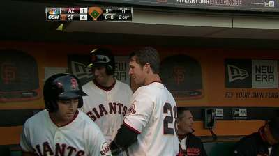 Illness keeps Posey out of Giants' lineup