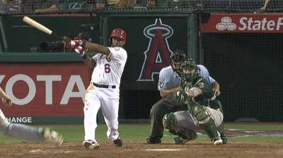 Callaspo quietly turning things around at the plate