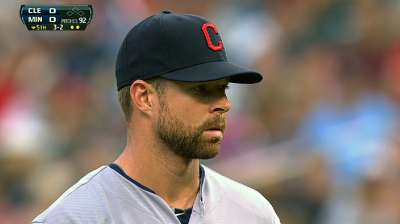 Indians optimistic Kluber will make next start
