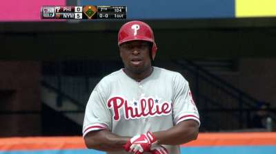 Lee, Phillies hurt by homers in finale with Mets