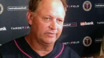 Gardenhire feeling better, back in dugout Monday