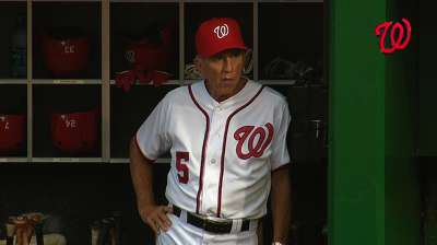 Nationals players take blame for Eckstein's dismissal