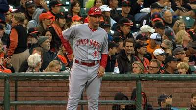 Reds coach Berry says he's cancer-free