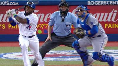 Blue Jays clear air but can't hold off Dodgers