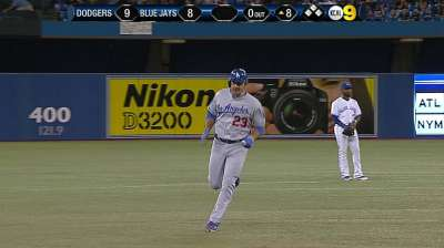 Adrian's big blast pushes Dodgers' rally over top