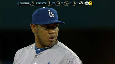 Dodgers summon Marmol, put Dominguez on DL