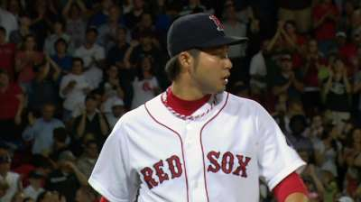 Tazawa coming up big in big situations