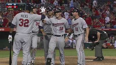 Power-packed 10th lifts Twins past Angels