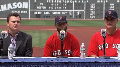 Pedroia makes deal official in place he calls home