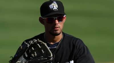 Padres eager to see Fuentes' Majors potential