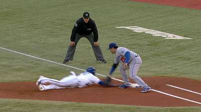 Dodgers put in extra work on pickoff plays