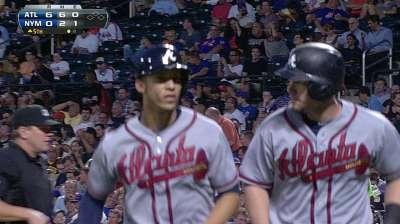Poder de Bravos fue mucho para pitcheo de Mets