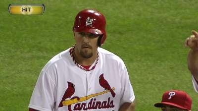 Peterson sent back to Triple-A as Holliday returns