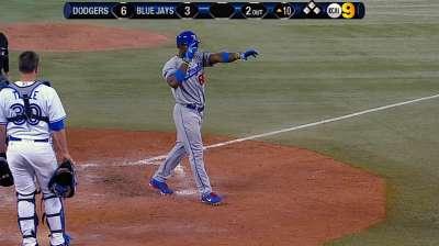 Dodgers push win streak to six with five-run 10th