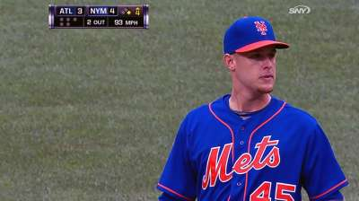Wheeler's first home win courtesy of Mets' bats