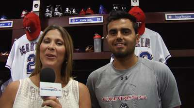 Soria unshaken after first difficult outing with Rangers