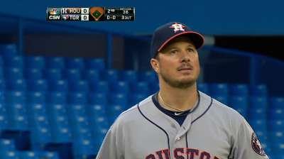 Bedard solid, but Buehrle blanks Astros