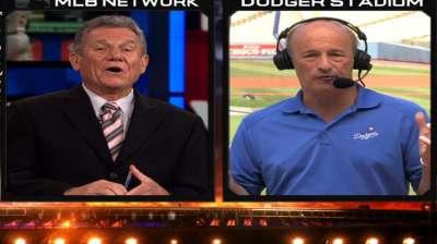 Dodgers exec Kasten pleased by club's progress
