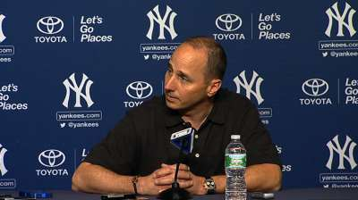 Cashman keeps focus on A-Rod's rehab