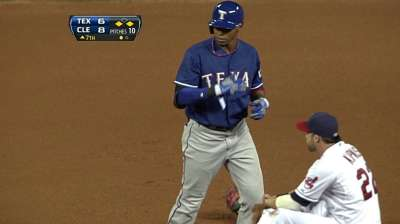 E. Beltre gets another start in left for Rangers