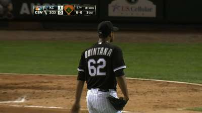 White Sox can't cash in on chances to back Quintana