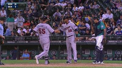 Colabello's first career HR lifts Twins in 13th