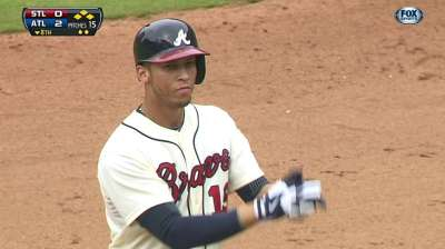 Simmons delivers double to reward stellar pitching
