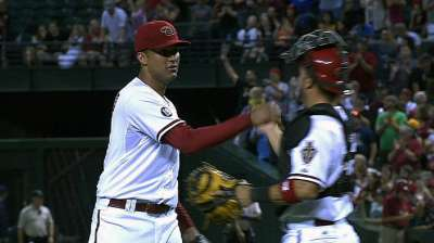 Delgado making strides in D-backs' rotation