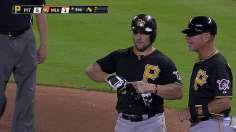 Pirates break out early, hold off Marlins