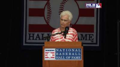 Cheek's wife accepts Frick Award with moving speech