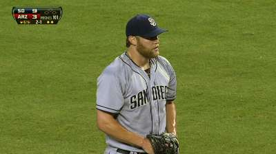 Padres power past Skaggs, D-backs to even series