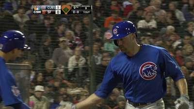 Schierholtz's homer gives Cubs win in duel