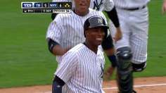 Soriano delivers heroics in Jeter's return