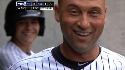 Jeter se hace notar en su regreso con los Yankees