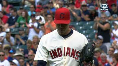 Indians' rotation turning heads with solid work