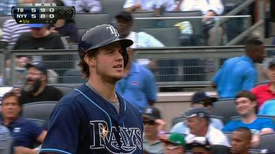 Myers provides quick spark for Rays' offense