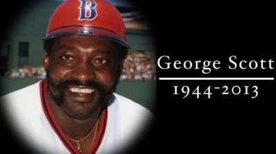 Former Red Sox, Brewers slugger Scott dies