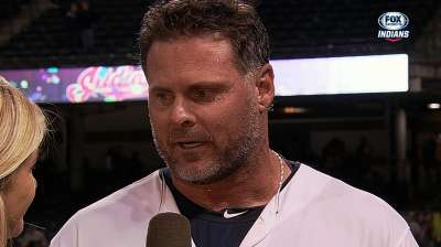 Giambi makes history with blast against Sox