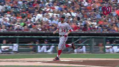 Strasburg's night undone by slam as Nats fall to Tigers