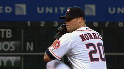 Amid trade rumors, Norris scratched from start