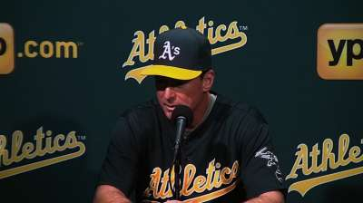 Callaspo to see time at second base with A's