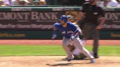 After early miscues, Blue Jays top A's in 10th