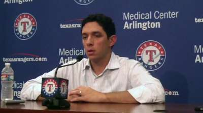 Rangers await updates on Cruz, Berkman